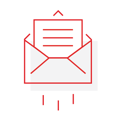 creative services email icon