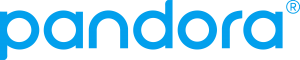 digital media streaming radio Pandora logo